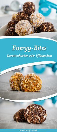 Energy-Bites für die schnelle Power zwischendurch