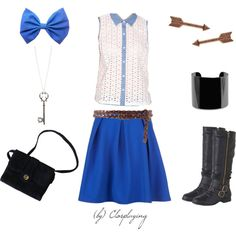 """""""Lucy (FT) Closplay"""" by closplaying on Polyvore This is great, I really like her style."""