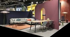 PODE IMM Cologne 2017 / Art Direction: Studio Roderick Vos. Claire Vos & Roderick Vos. Pode furniture. Design