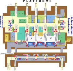 Ground Floor Plan Of Wellingtons New Railway Station