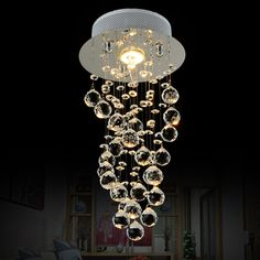 Eleganzo Collection Elegant Hanging Bubble Light