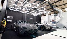 Garage Lighting, Lighting Showroom, Garage House, Dream Garage, Garages, Garage Design, House Design, Garage Plans With Loft, Ultimate Garage