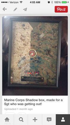 Marine Corps plaque