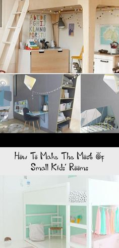 How To Make The Most Of Small Kids' Rooms - KIDS