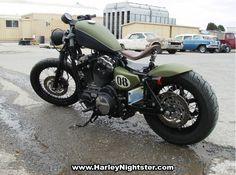 Nightster to bobber/board tracker/Cafe Racer I Don't Know! Harley Davidson Forum, Harley Davidson Iron 883, Harley Davidson Motorcycles, Bobber Style, Cafe Racer Style, Harley Nightster, Motorcycle Icon, Road King Classic, Custom Bobber