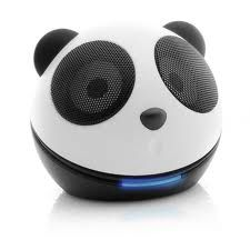 These panda-themed portable speakers are a fun way to take your favorite tunes on the road to share with friends and family. Panda's Dream, Lovers Eyes, Portable Speakers, Panda Love, Diy Tassel, Ergonomic Mouse, Eye Candy, Gadgets, Electronics