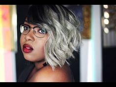 50 Shades Of Grey Quickweave Tutorial [Video] - http://community.blackhairinformation.com/video-gallery/weaves-and-wigs-videos/50-shades-of-grey-quickweave-tutorial-video