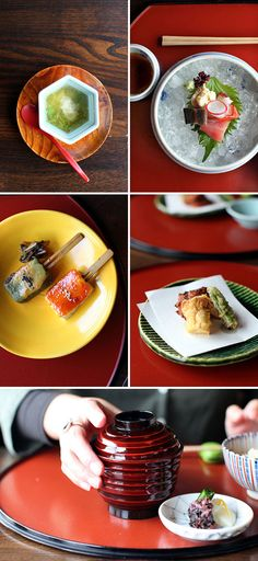 Kaiseki dinner with tofu | Kyoto, Japan