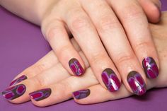 How to Create a Giles-Inspired Ikat Manicure
