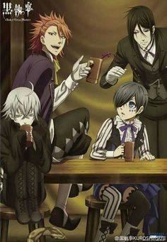 Black Butler Book of Circus!