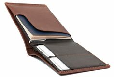 I've searched long and hard for a wallet that looks nice, takes a beating & doesn't sit in a front pocket or a bag like a lead wait. Bellroy Wallets and small leather goods are a dream. Not cheap. But worth it.