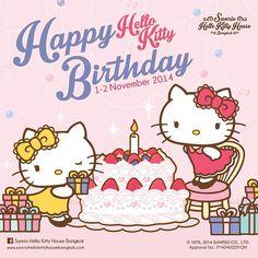 Hello Kitty House Bangkok (((o(*゚▽゚*)o))) #HappyBirthday