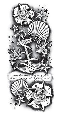 1000 ideas about Anchor Sleeve Tattoo on Pinterest | Anchor Tattoo ...