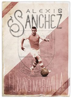 Alexis Sanchez of Arsenal wallpaper. God Of Football, Football Icon, Football Is Life, Retro Football, Football Art, Arsenal Football, Soccer Art, Soccer Poster, Good Soccer Players