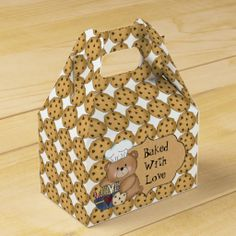 Baked With Love Gable Favor Box