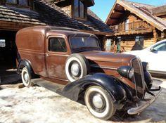 1937 Dodge Humpback Panel Van Delivery