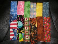 New Set of 12 Collar Covers for your Male Small and Medium Breed Dog or Cat C via Etsy $9.99