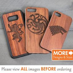 Wooden Phone Case, Game Of Thrones iPhone Case, Game Of Thrones Phone Case, iPhone 7 Case, Sasmung 8 Iphone 7 Case Men, Custom Iphone Cases, Personalized Phone Cases, Iphone 7 Plus Cases, Samsung Cases, Iphone 10, Ideas Para Madera, Game Of Thrones Sigils, Wooden Phone Case