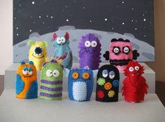 Monster Finger Puppet Set-