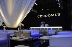 CERDOMUS - Coverings 2012 - Orlando, Fl - our business lounge