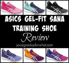 e6055297532 Asics Gel Fit Sana shoe review - a cross training shoe for fitness