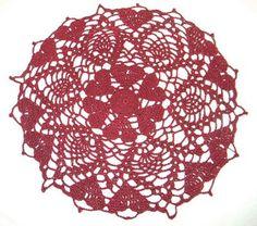 Crochet-A-Long Hearts Doily   Crochet Memories Blog
