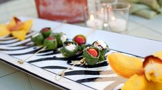 Caprese Skewers, Vinson Photography featured on PureJoyCatering.com