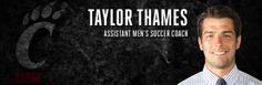 GoBEARCATS.COM Taylor Thames Joins Men's Soccer Staff - University Of Cincinnati Official Athletic Site University Of Cincinnati