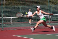 Lady Dons Tennis in stride University Of San Francisco, Student Life, Tennis Racket, Running, Lifestyle, Lady, Sports, Women, Hs Sports