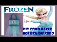 COMO HACER BOLSA DE LA PRINCESITA SOFIA/ SOFIA THE FIRST PARTY BAG - YouTube