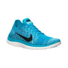 Women's Nike Free 4.0 Flyknit Running Shoes ($120) ❤ liked on Polyvore featuring shoes, athletic shoes, nike, holiday shoes, special occasion shoes, evening shoes and running shoes