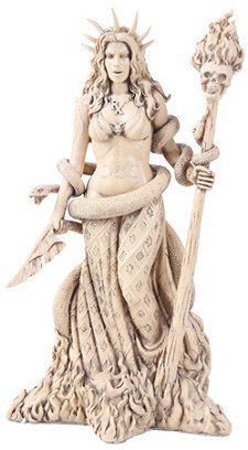 Hecate Witchcraft Statue