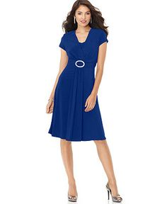 R Richards Dress, Cap Sleeve Cocktail Dress - Womens Dresses - Macy's
