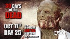 CFX Masks - 30 Days of the Dead - Day 25
