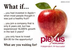 Need extra cash flow? New career? Website & wholesale pricing for just $34.95 annually. Free Training & brochures. Contact Me! #workfromhome #health #wealth #money #plexus