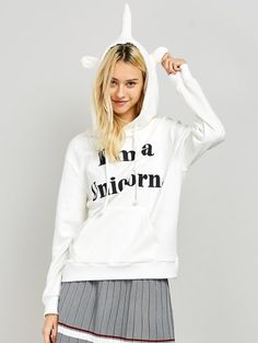 GET $50 NOW   Join Zaful: Get YOUR $50 NOW!http://m.zaful.com/i-am-a-unicorn-graphic-hoodie-p_247014.html?seid=1722354zf247014