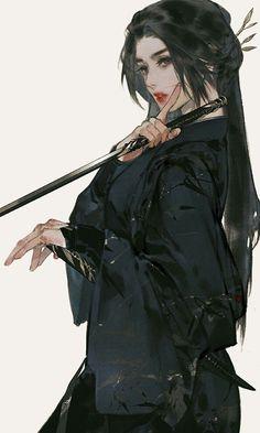 Anime Art Girl, Manga Art, Manga Anime, Fantasy Kunst, Fantasy Art, Fantasy Books, Fantasy Women, Character Inspiration, Character Art