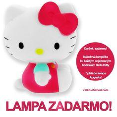 Lampa do konca mesiaca! Hello Kitty, Character, Lettering
