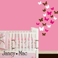 Abstract Dark Tree Butterfly Wall Stickers Decals Art for ...