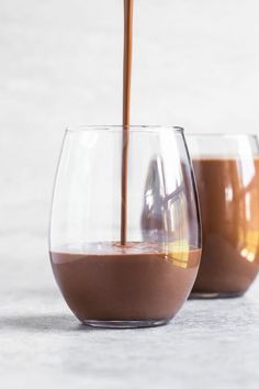 Homemade Vegan Chocolate Milk | The Vegan 8