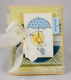 Cute Chick  #FSJourney #Stamping #Scrapbook  Fun Stampers Journey - FSJ