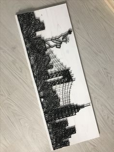 New york string art
