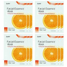 Kareway Epielle Vitamin C Facial Essence Mask (Pack of 12). Coming to Amazon. $9.95