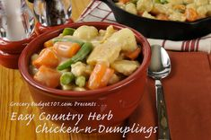 Country Herb Chicken & Dumplings
