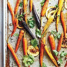 Sweet and Spicy Moroccan-Spiced Baby Carrots with  Lemon and Cilantro | CookingLight.com
