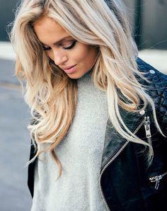 platinum blonde tones