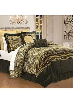 Kardashian Kollection Home Safari Luxe Bedding Collection #Sears