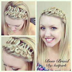 fabulous bow braid!!!((((: