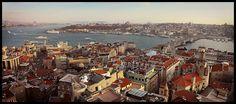 Istanbul afternoon from Galata Tower  portofolio - Novar Pratama - Picasa Web Albums