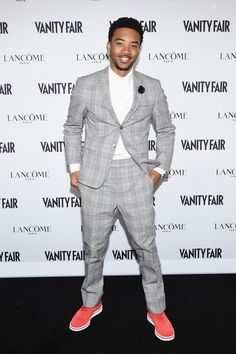 126a59b2b26 Algee Smith Vanity Fair And Lancome Toast To The Hollywood Issue My Baby  Daddy, Black